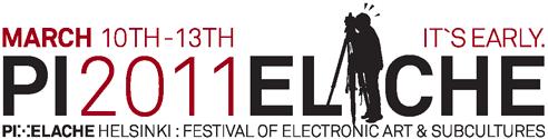 Pixelache 2001 logo