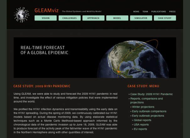 New GLEAMviz.org website